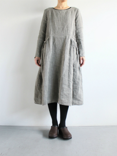 R&D.M.Co- LINEN HERRINGBONE PULLOVER DRESS _b0139281_14464024.jpg