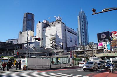 1月25日(水)今日の渋谷109前交差点_b0056983_17051832.jpg
