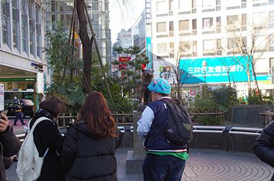 1月25日(水)今日の渋谷109前交差点_b0056983_17051948.jpg