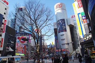 1月25日(水)今日の渋谷109前交差点_b0056983_17054663.jpg