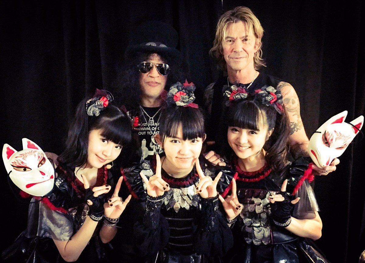 GUNS N\' ROSES JAPAN TOUR 2017 横浜アリーナ BABYMETAL編_b0042308_13290636.jpg