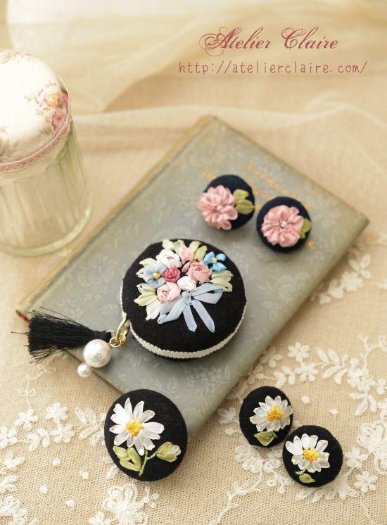 リボン刺繍の作品をアレンジ_a0157409_11050598.jpg