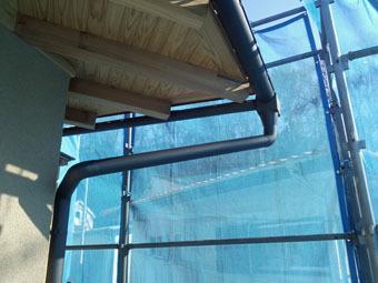 稲田堤の家の雨といの集水器は手作りです。_c0195909_15312485.jpg
