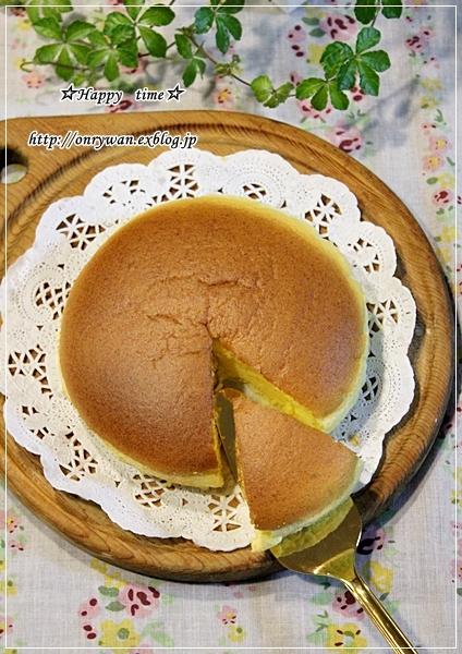つくねの照焼き弁当とスライスチーズでチーズケーキ♪_f0348032_17593231.jpg