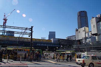 1月26日(木)今日の渋谷109前交差点_b0056983_11310059.jpg