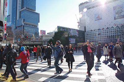 1月26日(木)今日の渋谷109前交差点_b0056983_11310237.jpg