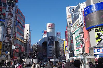 1月26日(木)今日の渋谷109前交差点_b0056983_11310256.jpg