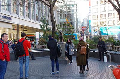 1月26日(木)今日の渋谷109前交差点_b0056983_11424141.jpg