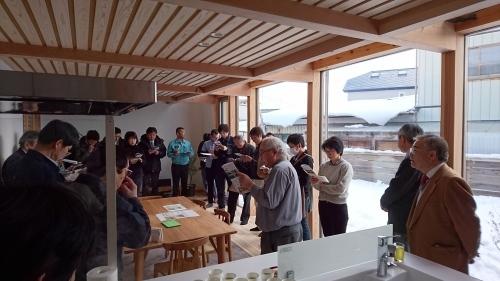 西方設計試作住宅の見学会がありました。_f0150893_15135287.jpg