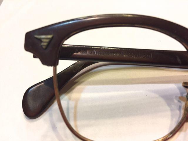 1月28日(土)入荷!60s〜ビンテージ 眼鏡フレーム アメリカンオプティカルなど・・。_c0144020_17184970.jpg