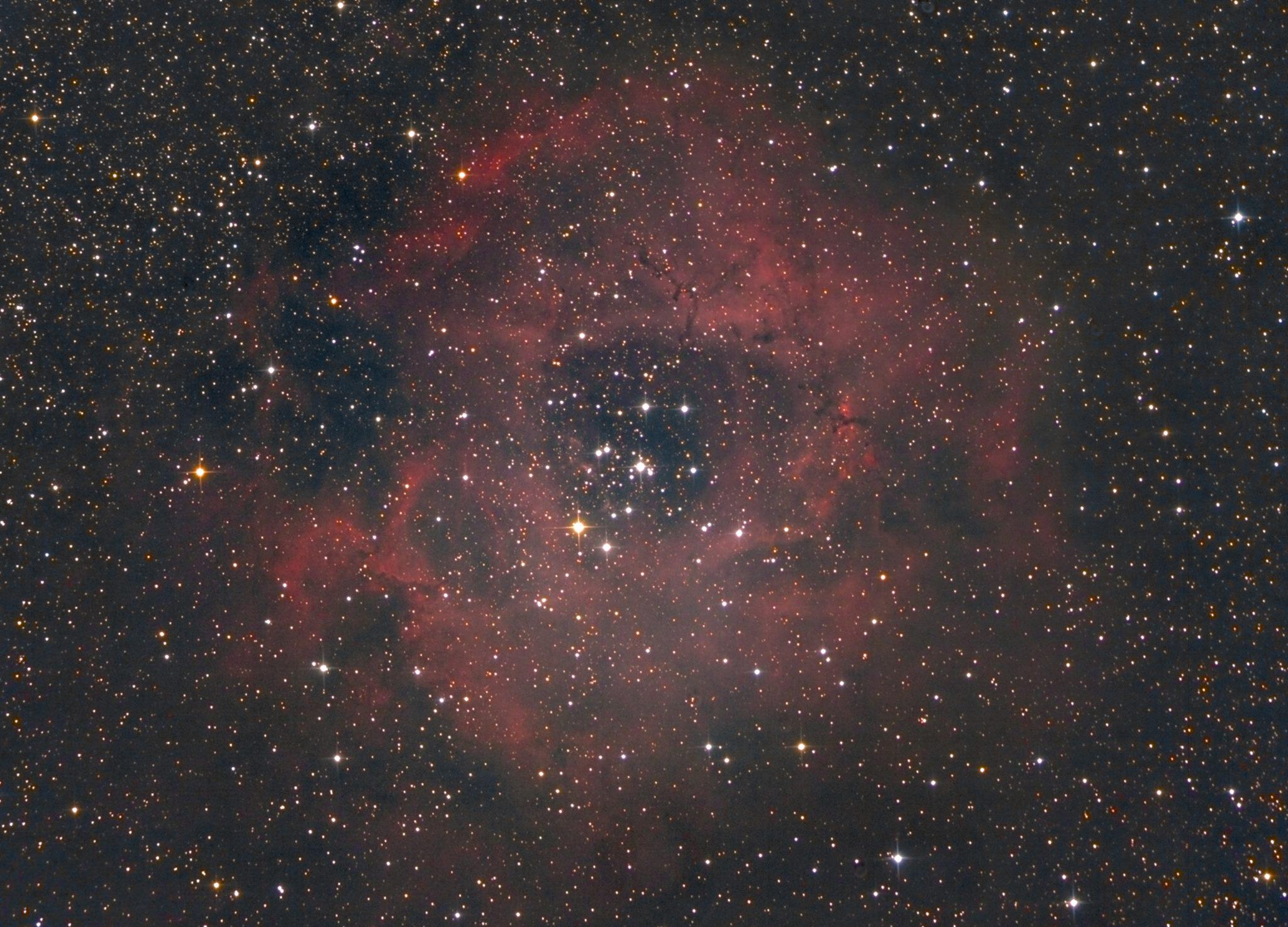 赤い星雲はなかなか映らないです。_c0061727_18122595.jpg