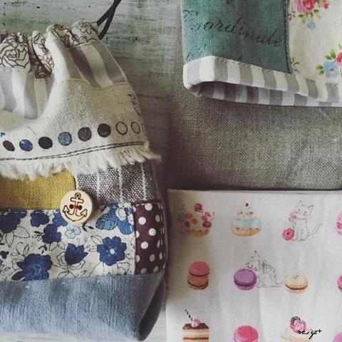 ハギレで作る布小物と著書の事。久々のチラリズム&刺繍サンプラー_f0023333_20190934.jpg