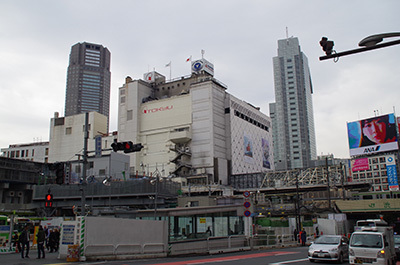 1月27日(金)今日の渋谷109前交差点_b0056983_11452758.jpg