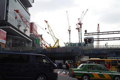 1月27日(金)今日の渋谷109前交差点_b0056983_11452788.jpg