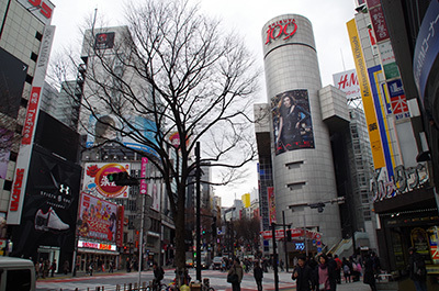 1月27日(金)今日の渋谷109前交差点_b0056983_11452854.jpg