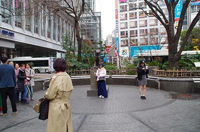 1月27日(金)今日の渋谷109前交差点_b0056983_11452964.jpg