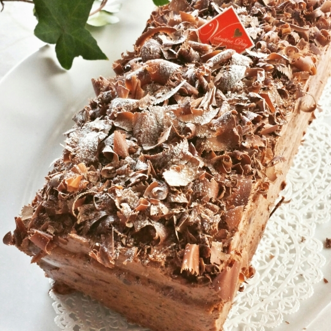 1月28日(土)  チョコレートクリームケーキとバタートップ_d0138307_19344329.jpg