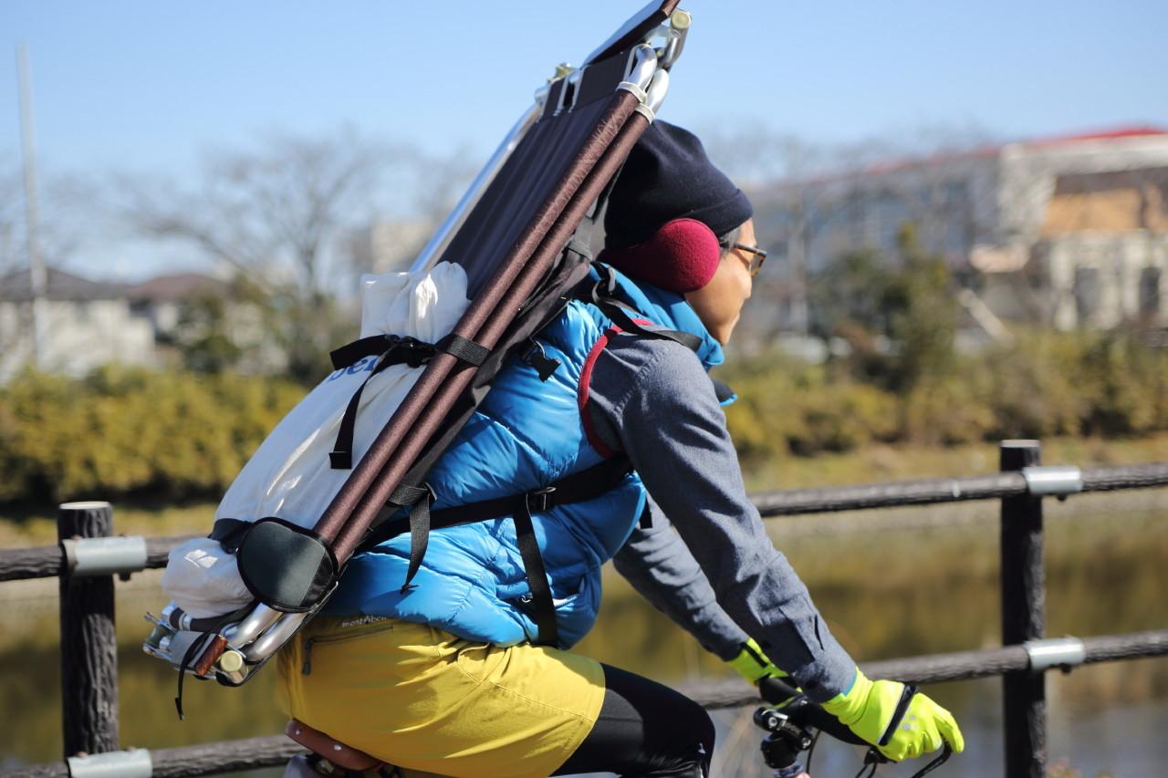 背負う男 --Day camp & New tools Test--_b0078651_15333419.jpg