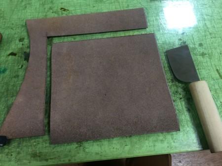 Leather Craft【Long Wallet⑥】_c0217759_23430855.jpg