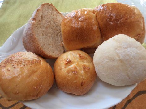 今日はパンつくりの1日でした♪_b0207284_1101170.jpg