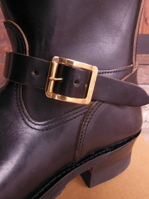 Attractions 新型 Lot.444 ENGINEER BOOTS(HORSE BUTT)エンジニアブーツ/BLACK,入荷_c0187684_1385681.jpg