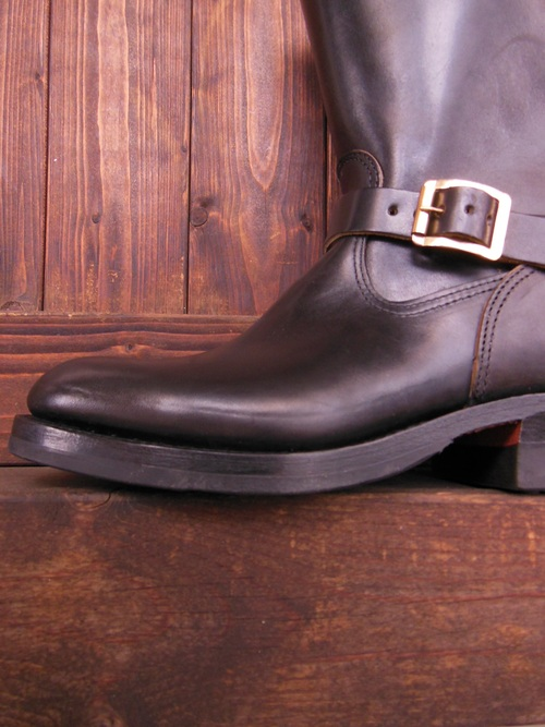 Attractions 新型 Lot.444 ENGINEER BOOTS(HORSE BUTT)エンジニアブーツ/BLACK,入荷_c0187684_1394691.jpg