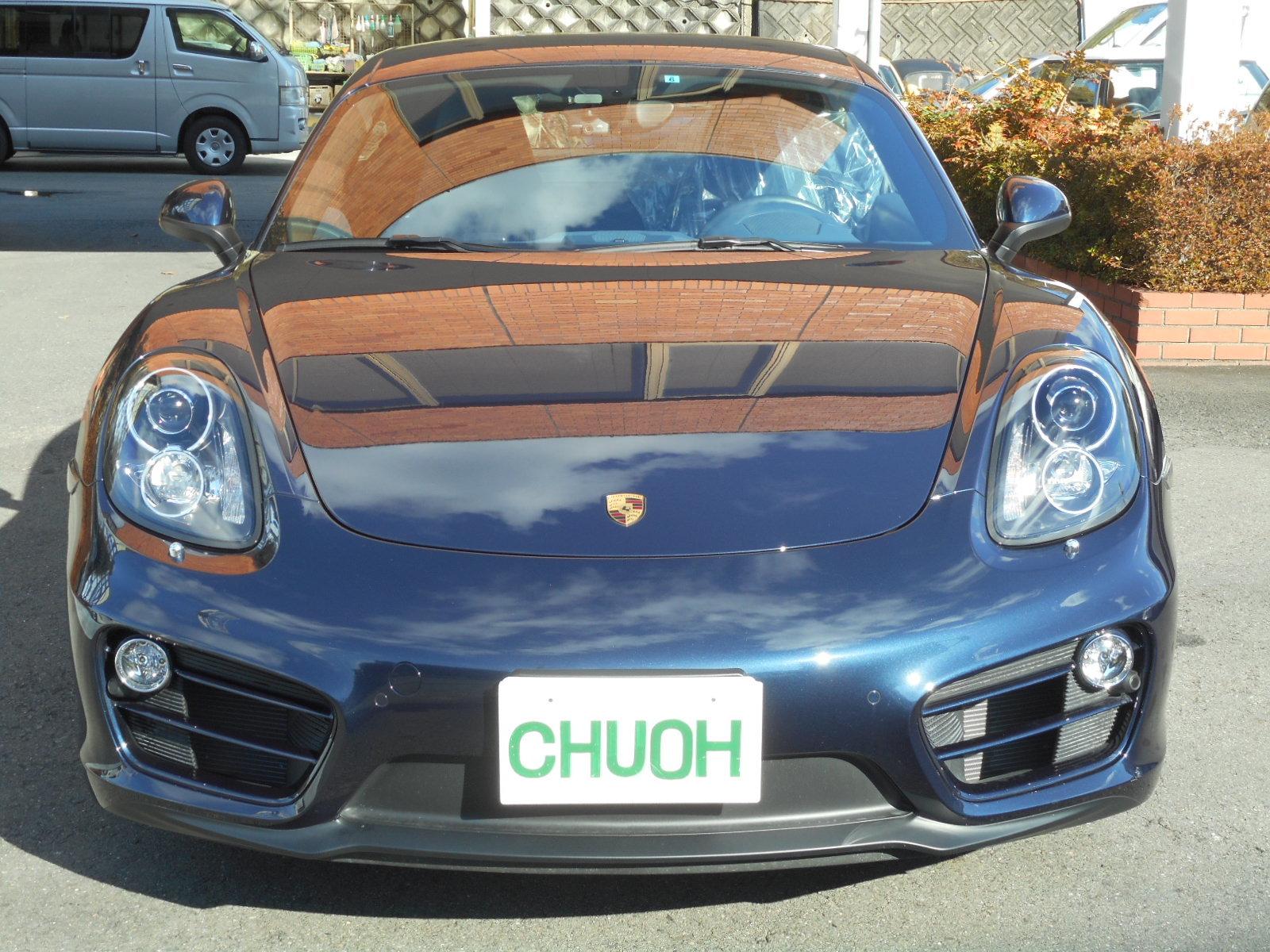 広告掲載車 ポルシェ ケイマンPDK_c0267693_17350135.jpg