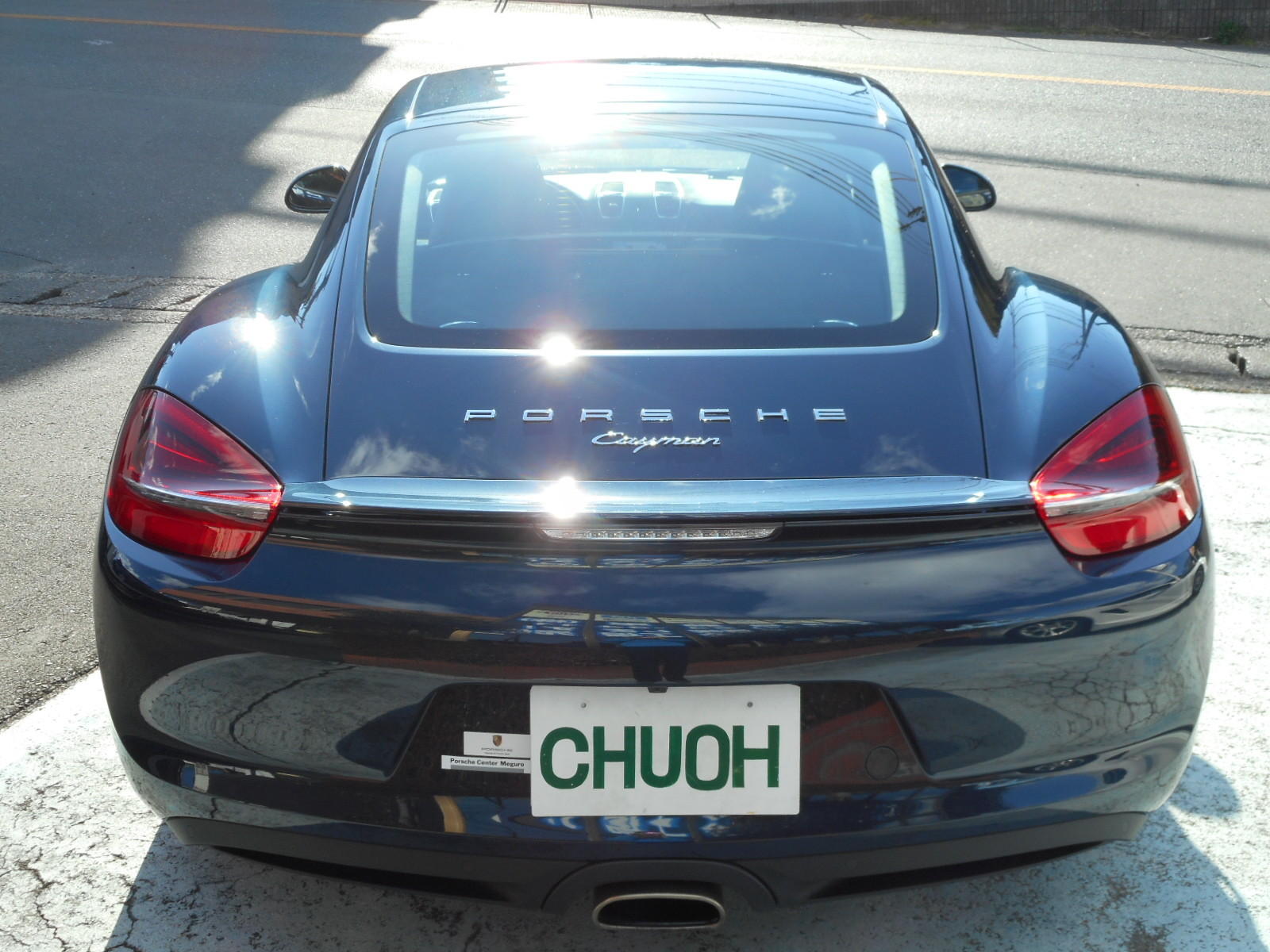広告掲載車 ポルシェ ケイマンPDK_c0267693_17354565.jpg