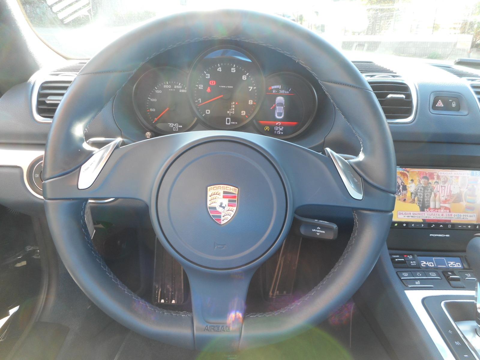 広告掲載車 ポルシェ ケイマンPDK_c0267693_17370229.jpg