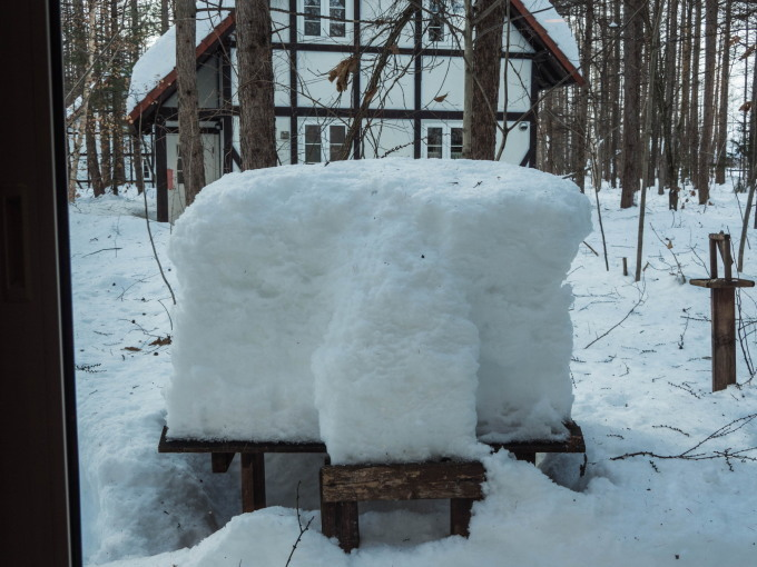 """カンタベリーの「雪まつり」?メイン雪像は""""りすのしっぽ""""?_f0276498_20384190.jpg"""