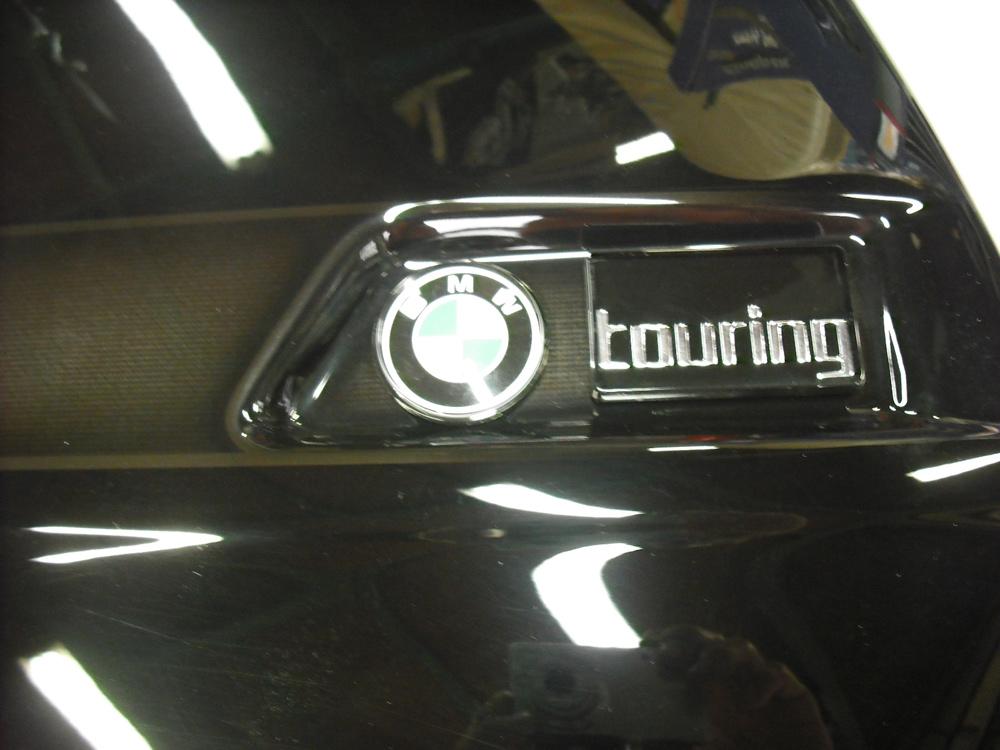BMWのパニアケースのふたをペイントしてみた。_d0130115_1221999.jpg