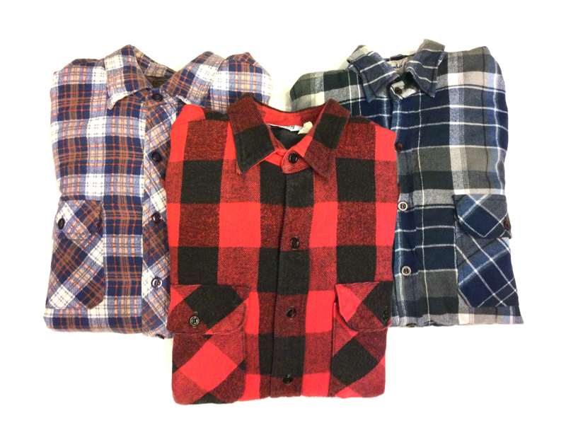 「 QUILTING FLANNEL SHIRT ×3 」_c0078333_20511653.jpg