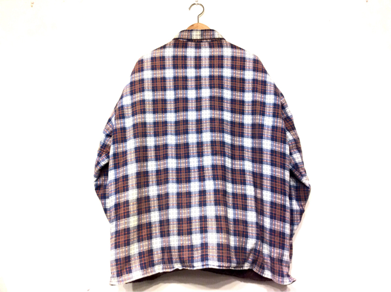 「 QUILTING FLANNEL SHIRT ×3 」_c0078333_20511760.jpg