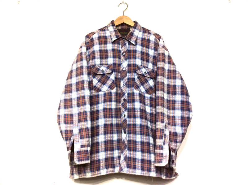 「 QUILTING FLANNEL SHIRT ×3 」_c0078333_20511775.jpg