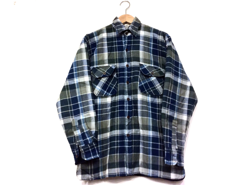 「 QUILTING FLANNEL SHIRT ×3 」_c0078333_20511866.jpg