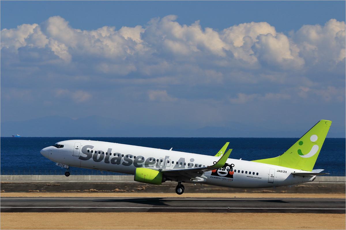 鮮やかな緑 - 大分空港_c0308259_23180357.jpg