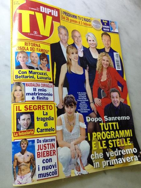 1ユーロで日本もちょい見えたオモロ雑誌『Di Più TV』_a0136671_3462592.jpg