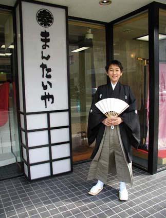 末っ子が小学校の卒業式に紋付・袴で出席しました_d0335577_17094828.jpg
