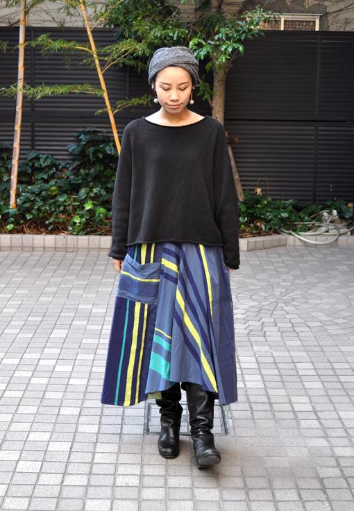 新作の Chotan Skirt / tamaki niime_d0193211_17423651.jpg