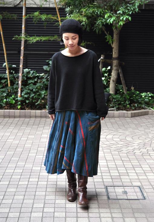 新作の Chotan Skirt / tamaki niime_d0193211_1742564.jpg