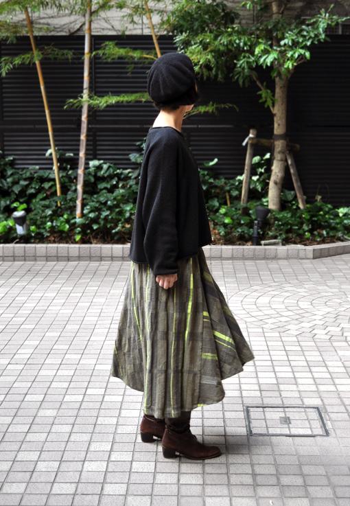 新作の Chotan Skirt / tamaki niime_d0193211_17431486.jpg