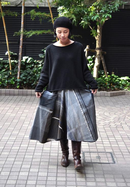 新作の Chotan Skirt / tamaki niime_d0193211_17433271.jpg