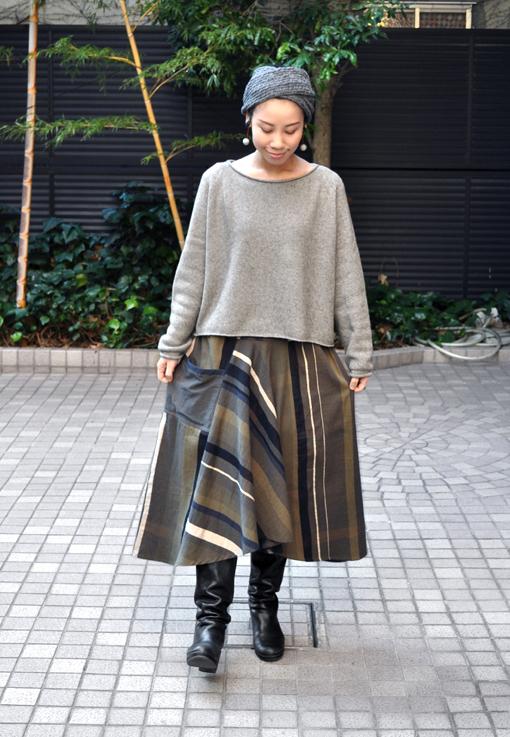 新作の Chotan Skirt / tamaki niime_d0193211_17435027.jpg