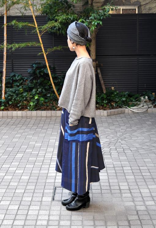 新作の Chotan Skirt / tamaki niime_d0193211_17441230.jpg