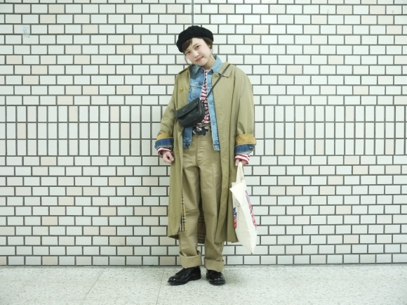 Burberry coat style~pichet paseo spring~_f0335217_15505722.jpg