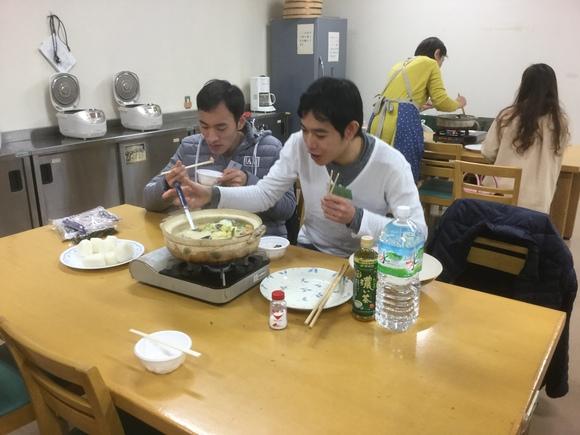 日曜朝教室 鍋・鍋 料理_e0175020_1619392.jpg