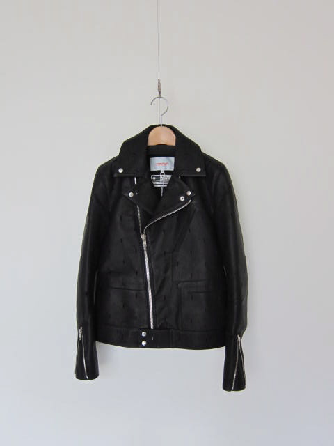 CITYのrectangle cut riders jacket_f0170424_10275889.jpg