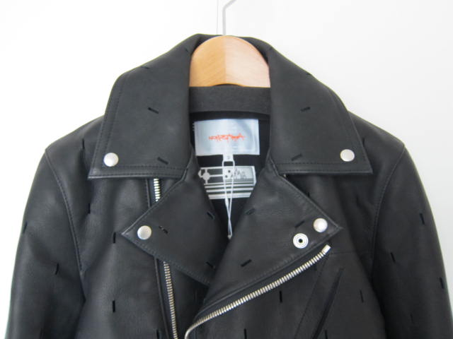 CITYのrectangle cut riders jacket_f0170424_10283268.jpg