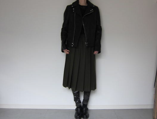 CITYのrectangle cut riders jacket_f0170424_10433019.jpg
