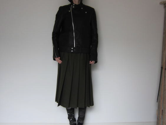 CITYのrectangle cut riders jacket_f0170424_1044011.jpg